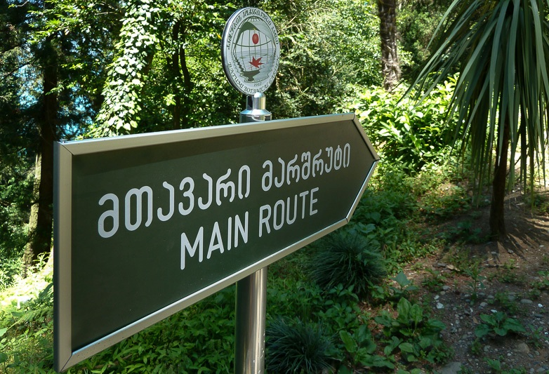 Маршрут: Ботанический сад.