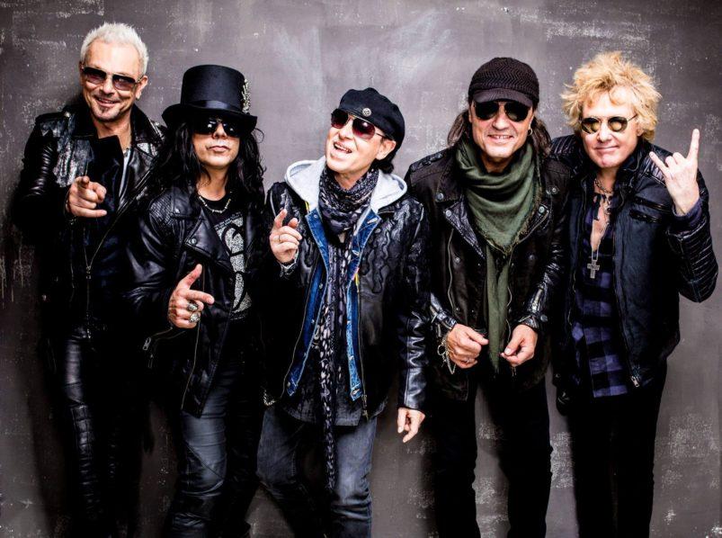 концерт Scorpions в Грузии